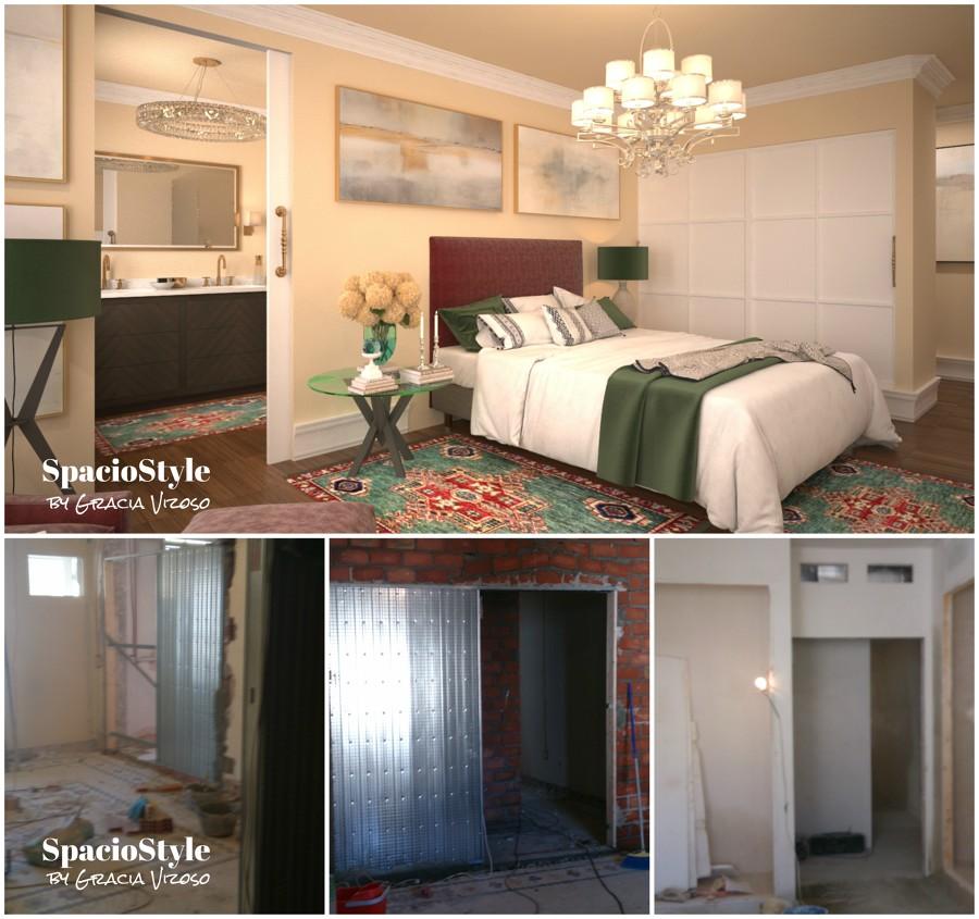 Reforma del dormitorio principal