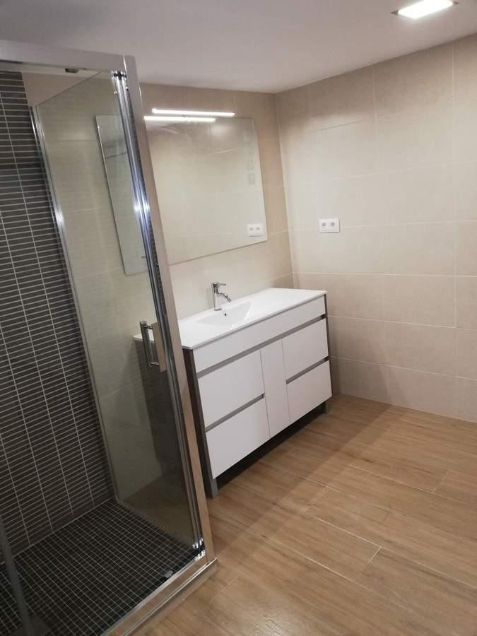 Reforma del lavabo de la vivienda