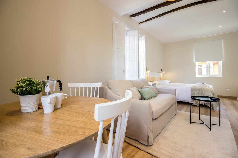 reforma e interiorismo alojamiento rural apartamento cocina