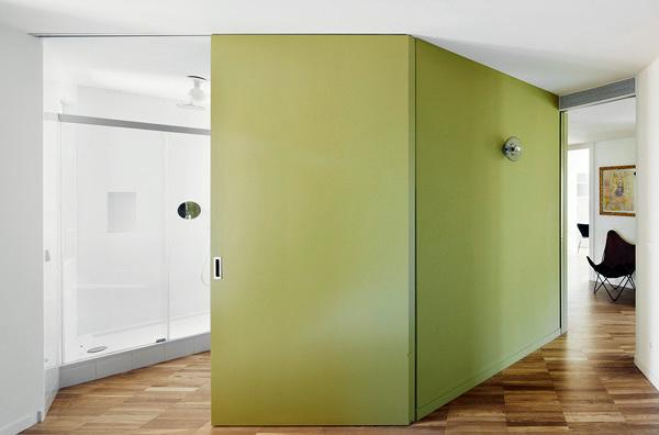 separador verde abierto