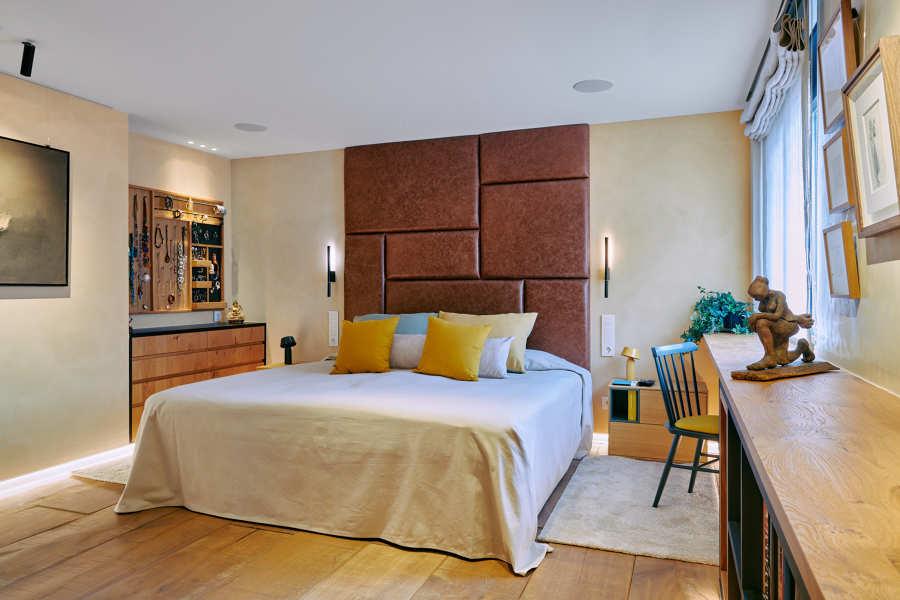 Reforma e interiorismo dormitorio