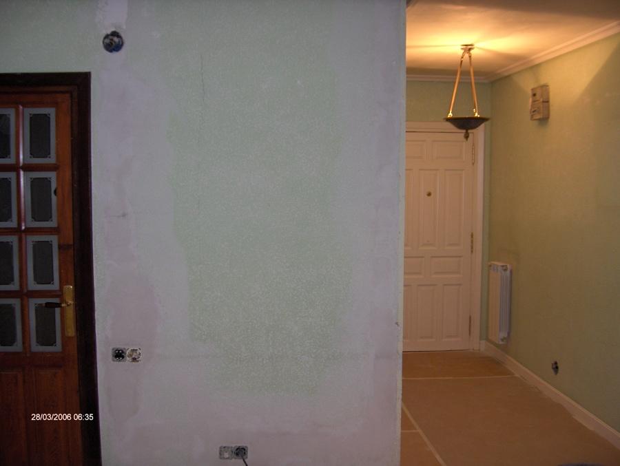 Reforma en hall y pasillo (antes)