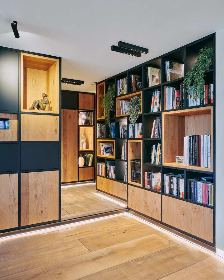Reforma entrada con mueble a medida