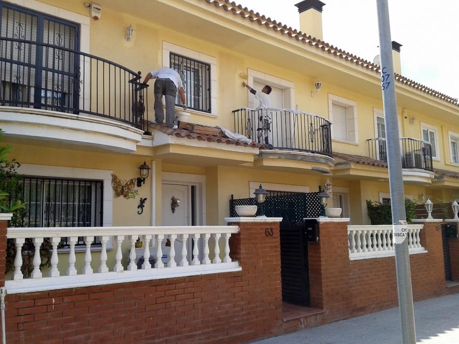 Rehabilitaci n conjunto de 20 casas pareadas en la costa ideas rehabilitaci n fachadas - Rehabilitacion de casas ...