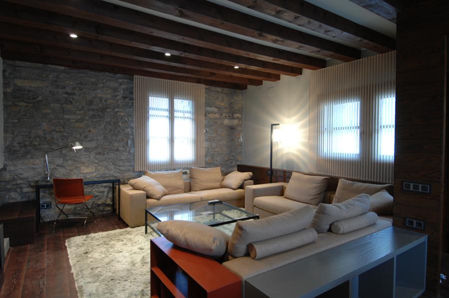 Foto reforma integral casa rural en ainsa de oliveras sanz 538846 habitissimo - Rehabilitacion casa rural ...