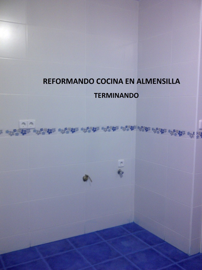 REFORMA INTEGRAL DE COCINA