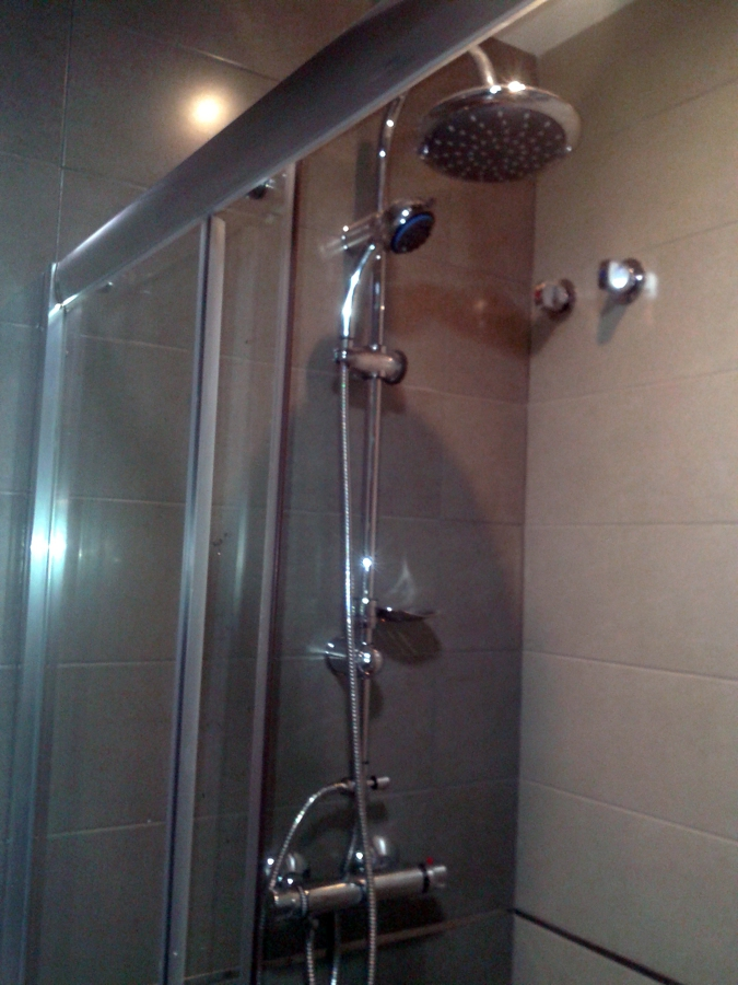 Reforma integral de un baño de 5 m2.