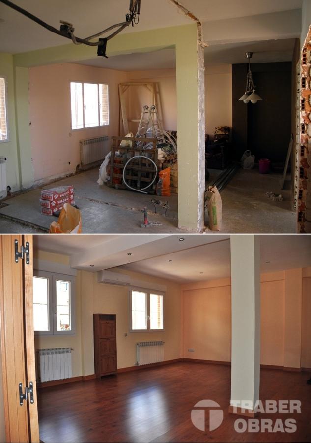 reforma integral de vivienda por Traber Obras_salón_0_TO.jpg