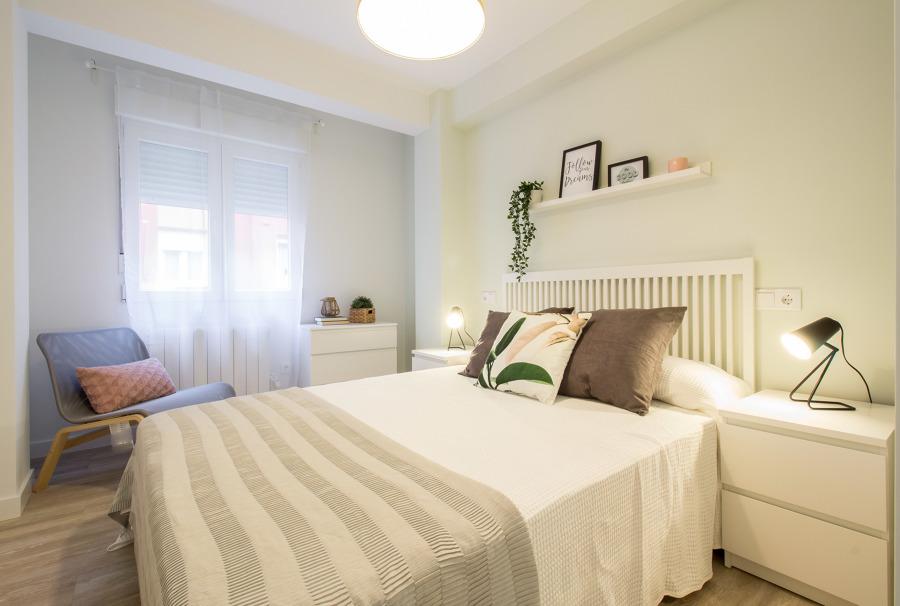 Reforma integral dormitorio principal y home Staging