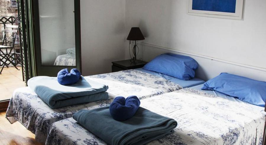 Reforma integral hostel en Barcelona - Habitación doble