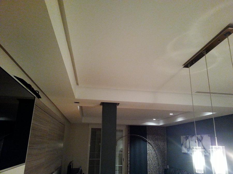 Foto reforma integral tabiques de placas yeso laminado pladur y techos de escayola de lorevan - Techos de escayola ...