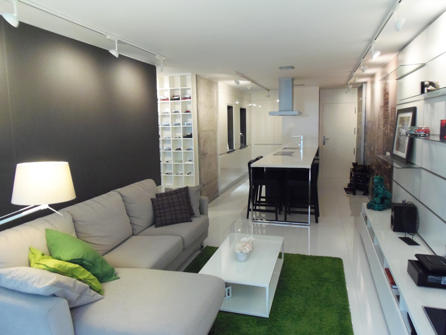 Reforma interior de un apartamento de soltero ideas for Diseno de apartamento de soltero