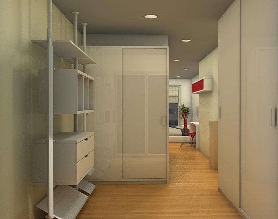 3d de la reforma de un piso en vigo ideas reformas viviendas - Reformas de piso ...