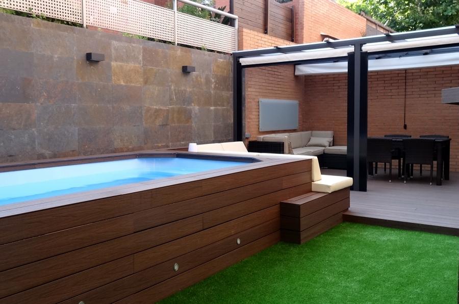 Foto reforma de totexterior 1002132 for Mini piscinas para terrazas