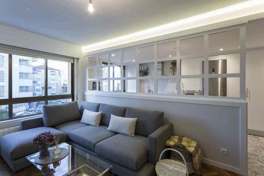Reforma vivienda en Madrid - Salón y Cocina
