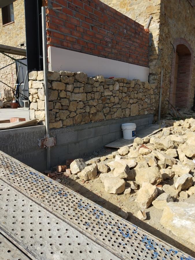 Reforma y ampliación en manso de piedra