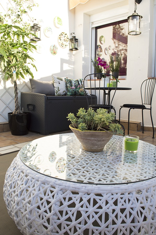 El antes y despu s de 5 terrazas ideas decoradores for Sofa baul terraza