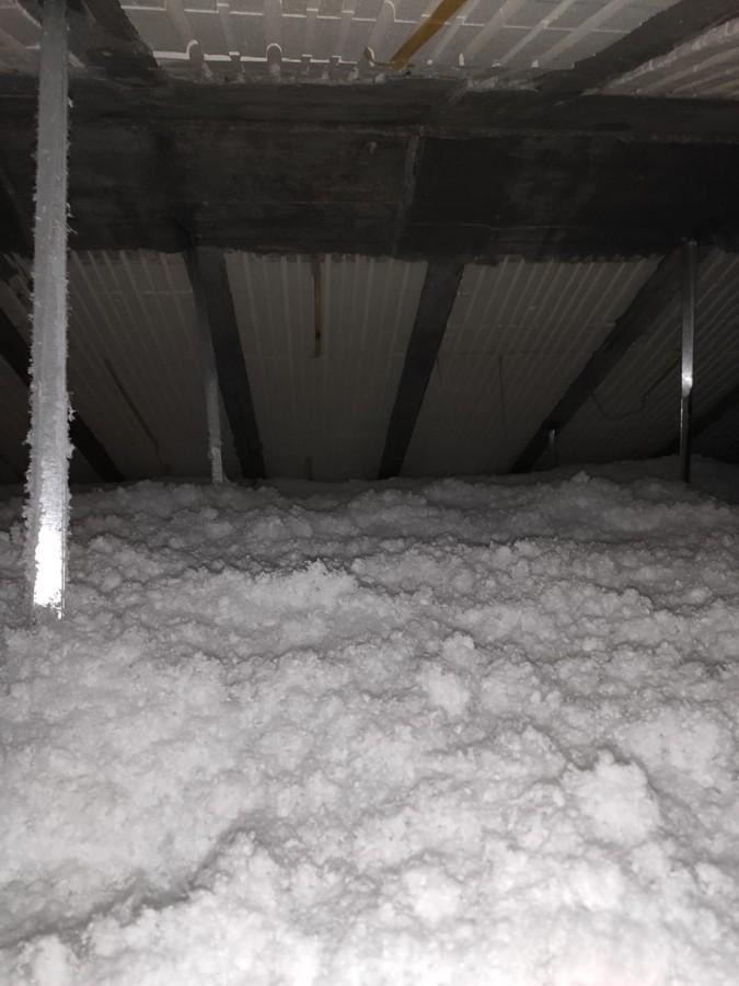Regado lana mineral falso techo