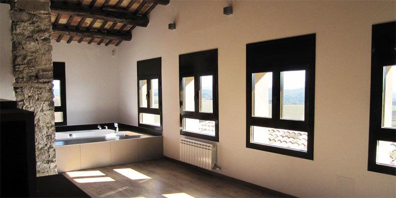 raddi ARQUITECTES Rehabilitació antic corral per habitatge unifamiliar a Les Piles