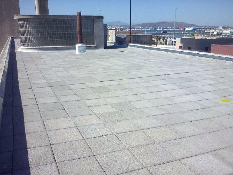 Rehabilitación de cubierta en la capitanía marítima de Algeciras