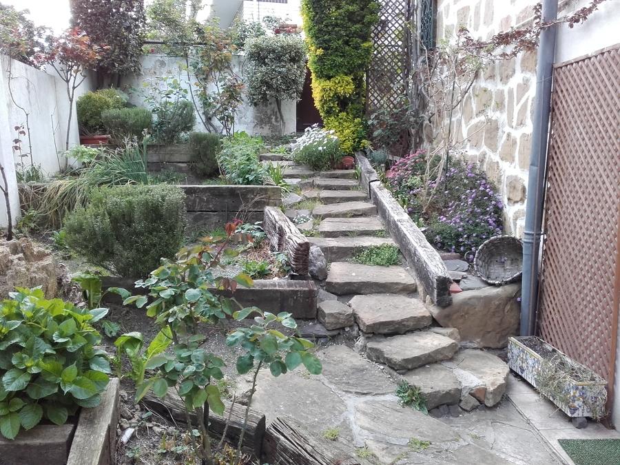 Rehabilitación de acceso y terraza de jardín 1