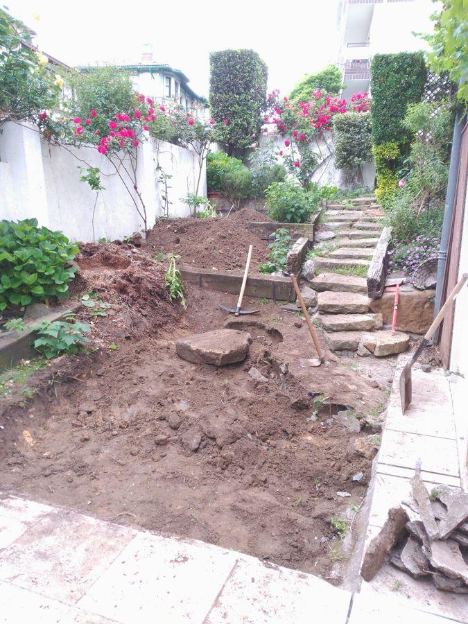 Rehabilitación de acceso y terraza de jardín 2
