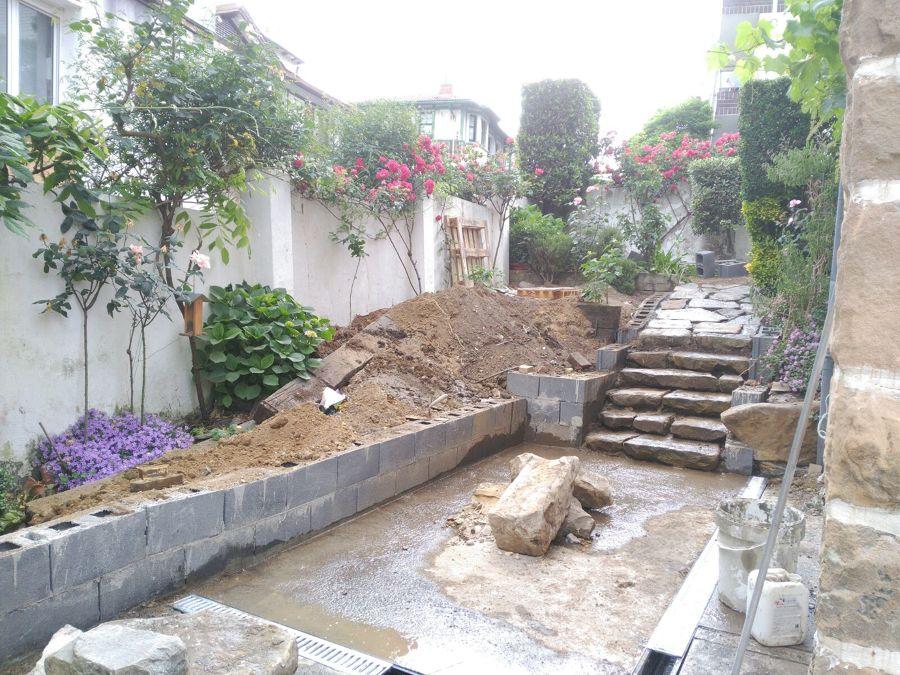 Rehabilitación de acceso y terraza de jardín 4