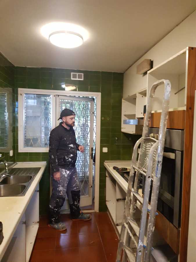 rehabilitación de cocina