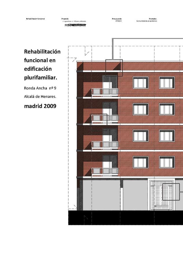 rehabilitacion de edificio plurifamiliar