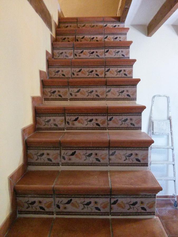 Rehabilitación de escalera