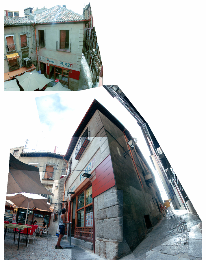 Rehabilitación de Fachada a Plaza Barrio Rey-Toledo.