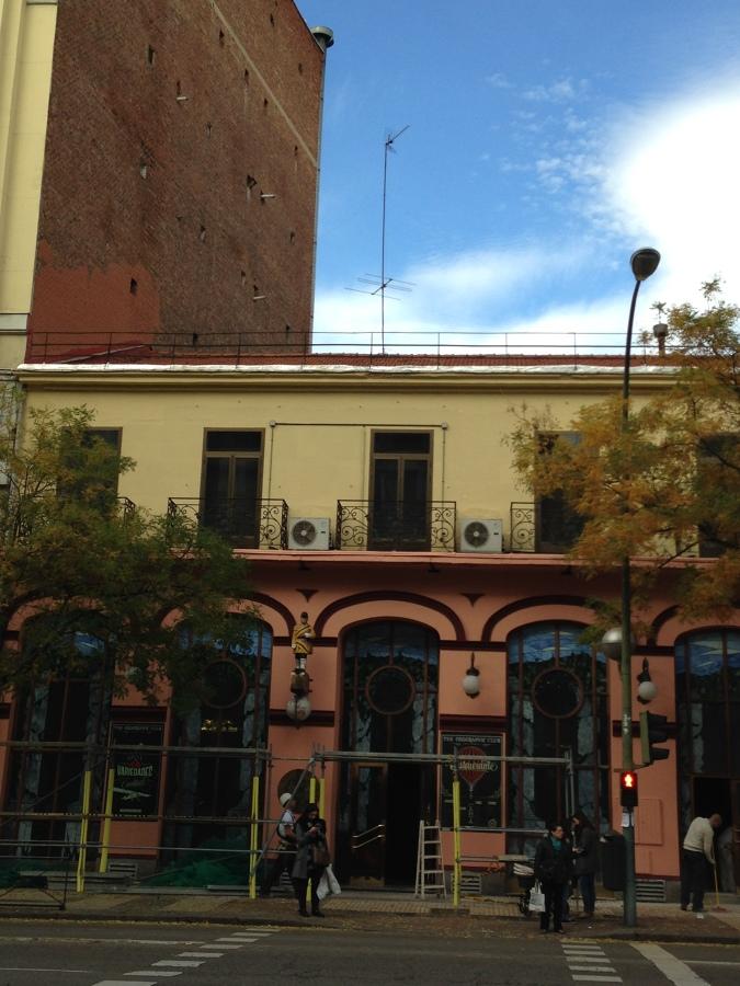 REHABILITACION DE FACHADA EN CALLE ALCALA 141 ( MADRID)
