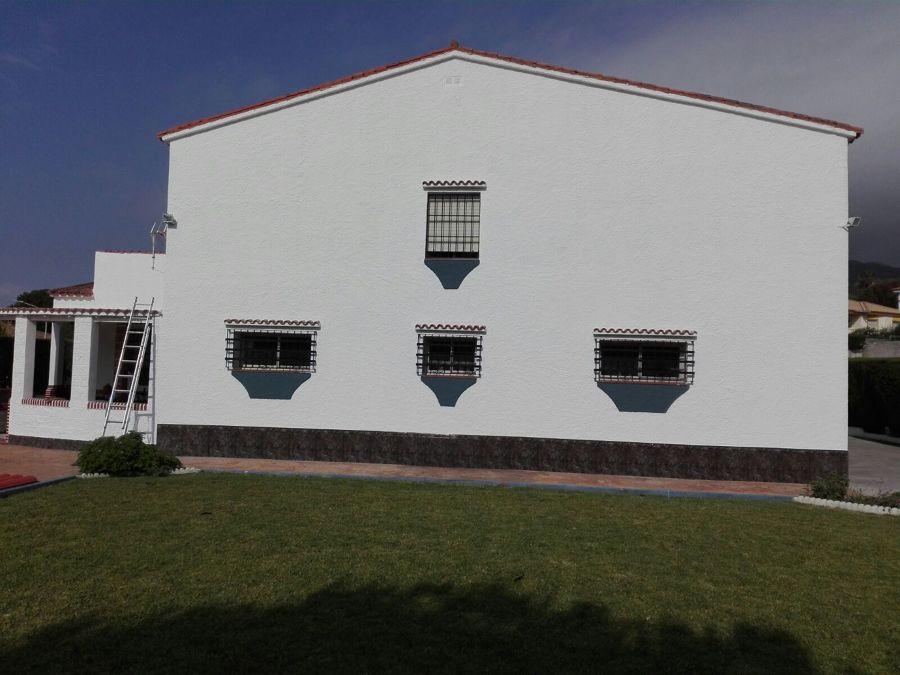 Rehabilitación de fachada vivienda