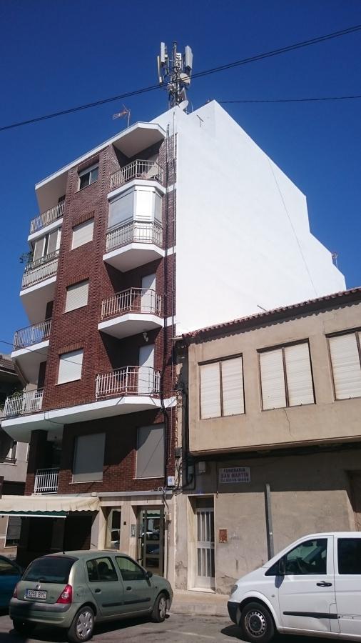 rehabilitación de fachada y laterales
