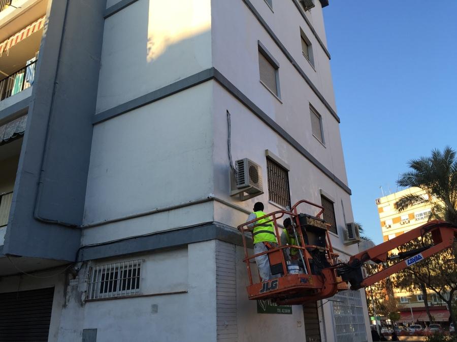 Edificio av granada 4 ideas reformas comunidades for Saneamientos granada
