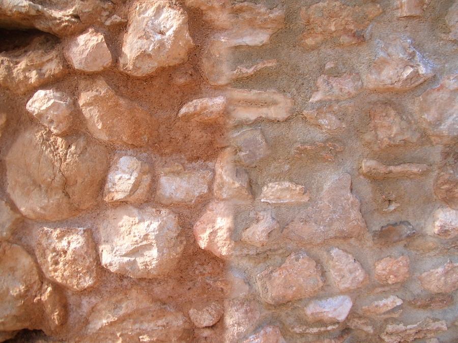 Rehabilitación de muro de mampostería de piedra
