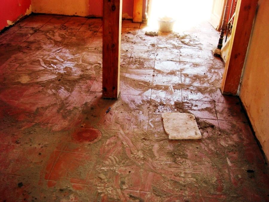 Rehabilitación de suelos en casa de pueblo 5