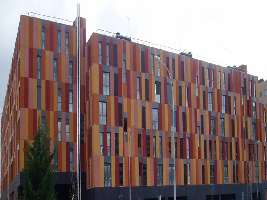 Rehabilitación fachada monocapa En Madrid