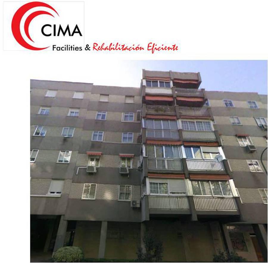 Rehabilitación fachada y patios