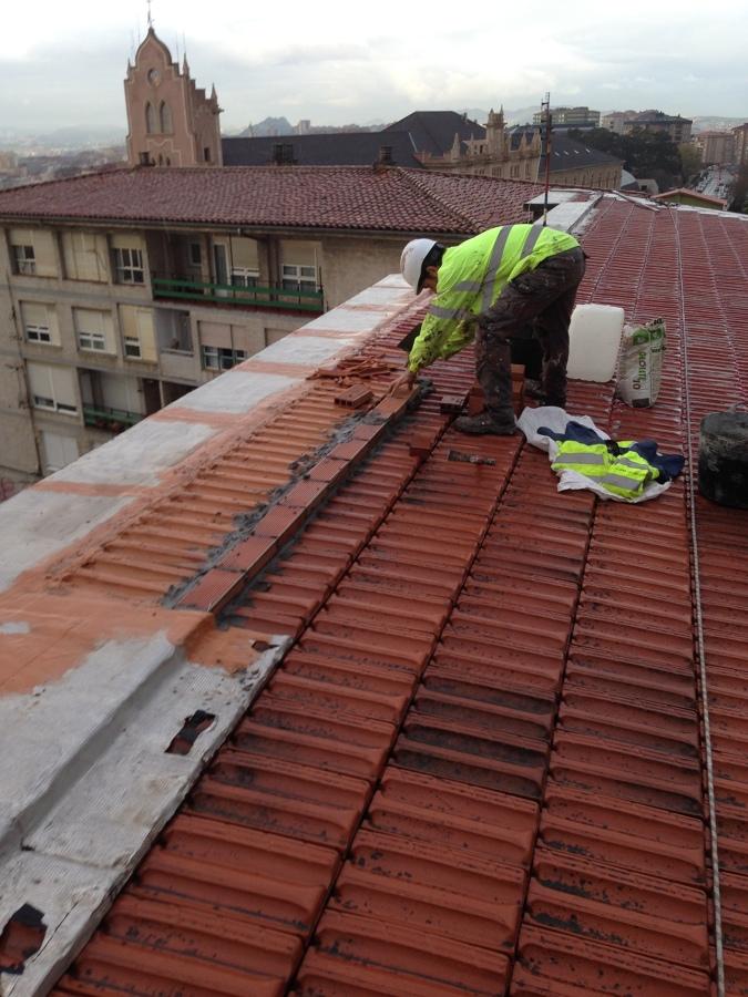 Rehabilitaci n integral de cubierta y tejado ideas - Cubiertas de tejados ...