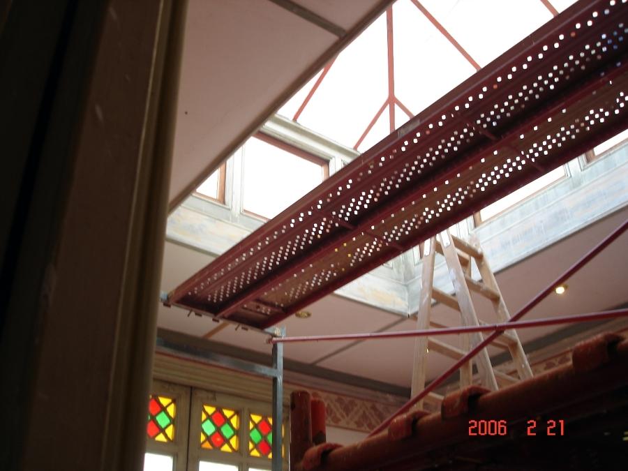 Rehabilitación lucernario