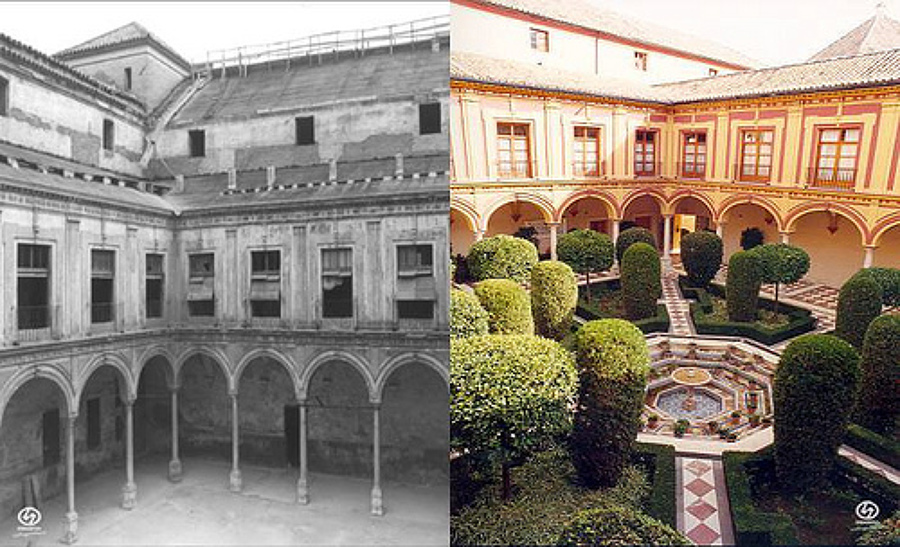 Rehabilitación Palacio de los Terceros. Sevilla.