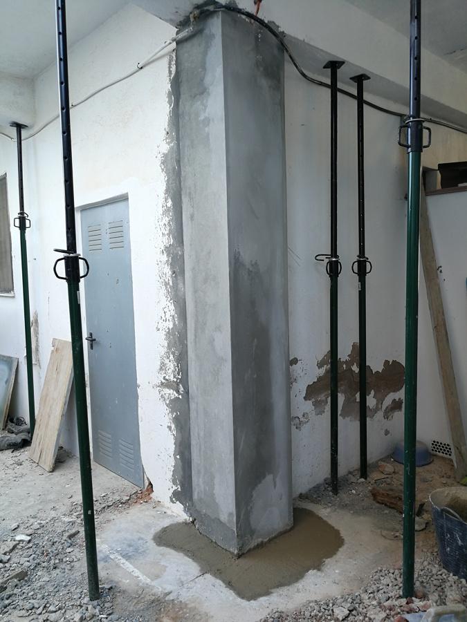 Rehabilitacion pilares resultado final