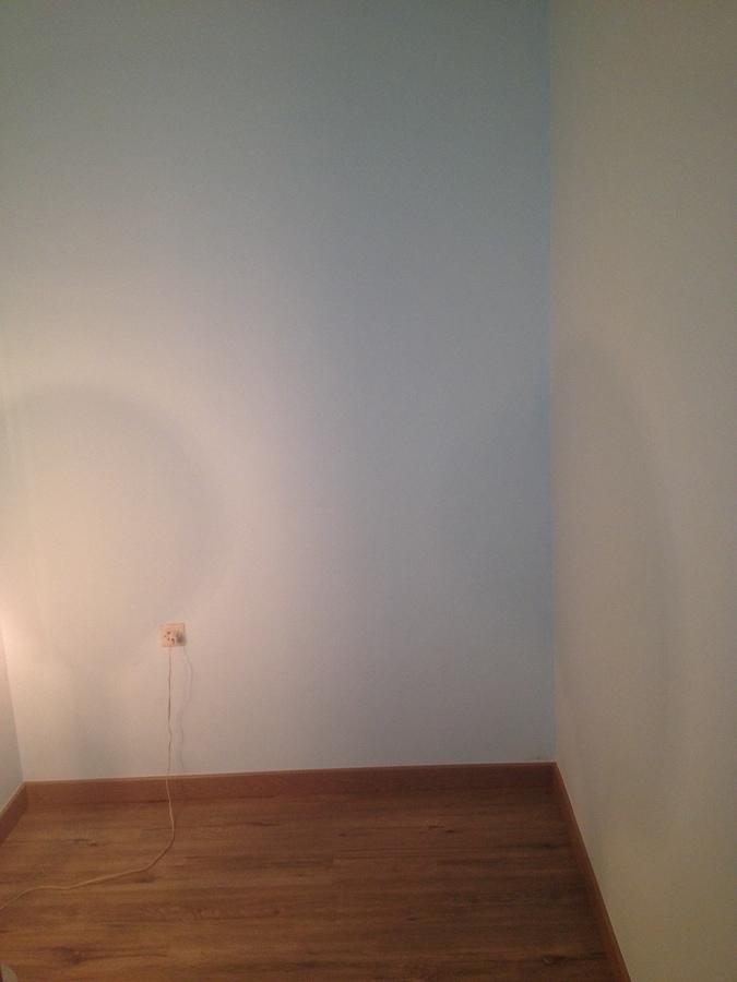 Rehabilitación vivienda-detalle de parquet y pintura paredes