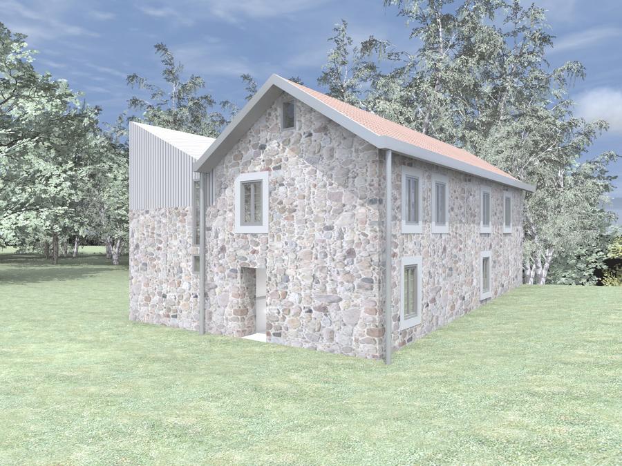 Rehabilitacion y reforma de casa rustica ideas arquitectos - Rehabilitacion de casas ...