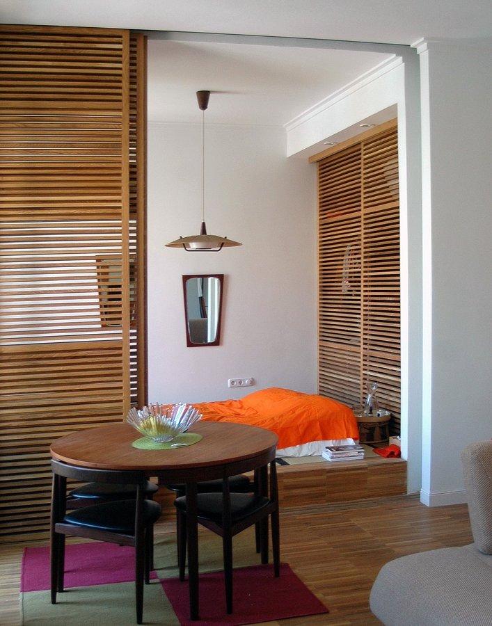 Relación salón-dormitorio principal