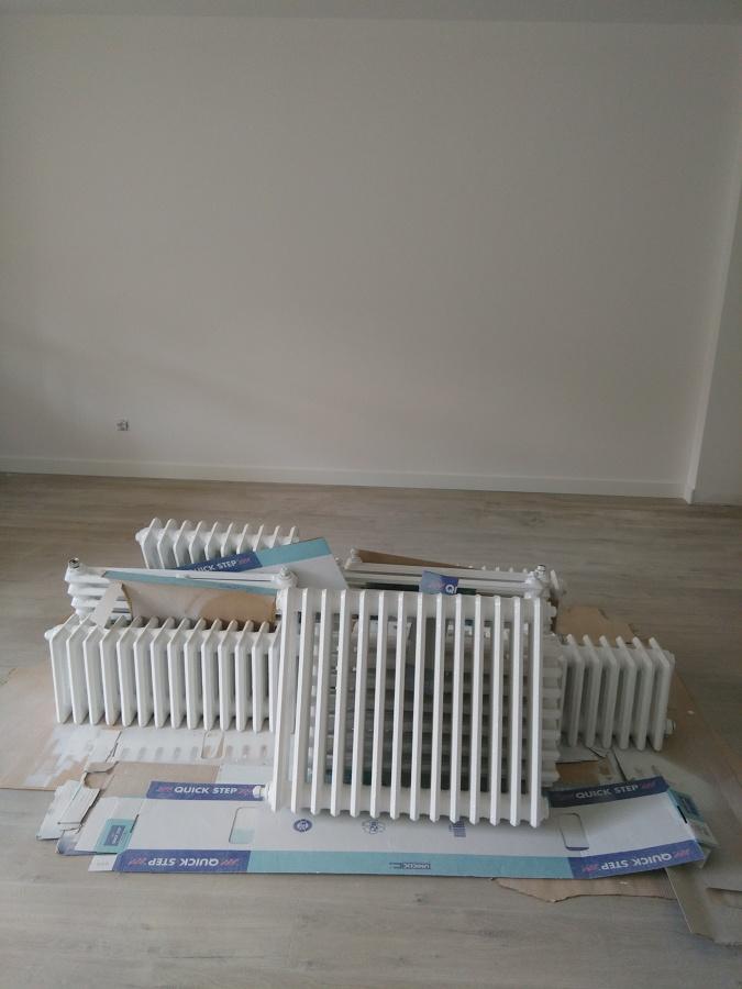 Foto remates de pintura y radiadores restaurados de - Pintura para radiadores ...