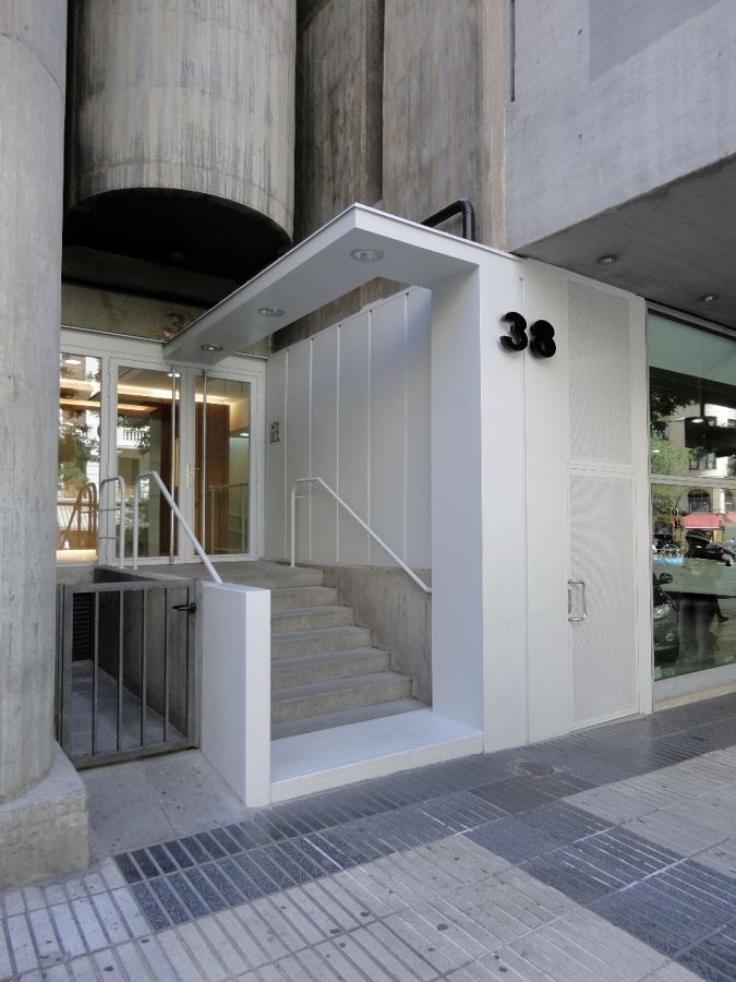 Foto Remodelaci N De Acceso A Edificio De Oficinas De