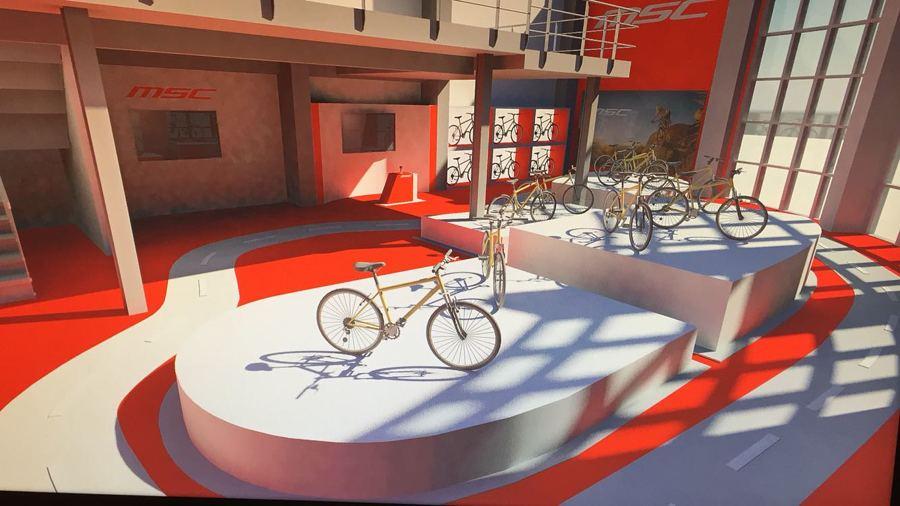 Render de proyecto tienda bicicletas