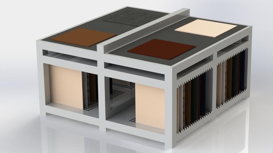 Muebles para exposicion de ceramica tarragona ideas for Muebles de oficina tarragona